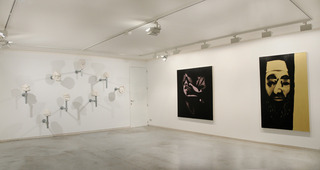 Installation view, Leigh Clarke