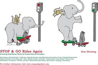 Stop & Go Rides Again Poster, Sarah Klein