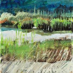 Autumn Light/Blackfish Creek, Marilyn Banner