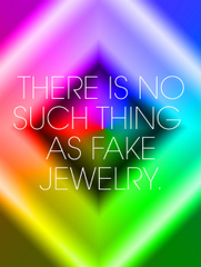 There Is No Such Thing As Fake Jewelry,Ely Kim