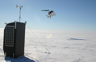 I-TASC Groundhog unit, Dronning Maudland, Antarctica, Marko Peljhan