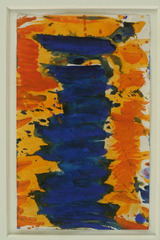 Untitled Feather (SF 59014), Sam Francis