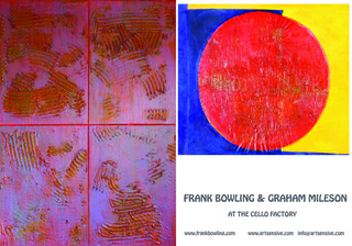 Exhibition of New Abstract Paintings, Frank Bowling, Graham Mileson