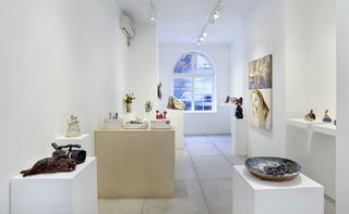 Group Exhibition , Pam Lins, Joanne Greenbaum, Ghada Amer, David Salle, Trisha Baga, Robin Cameron, Alice Mackler