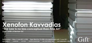 Opening Invitation, Xenofon Kavvadias