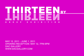Thirteen by Thirteen Invite,