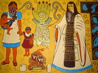 Mujer de Mucha Enagua, Pa\' Ti Xicana, Yreina Cervantez