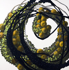 Still Life with Grape and Pear, Mia Brownell