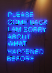 Please Come Back, Tim Etchells