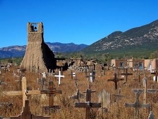 Old Taos Cemetery, Jerry Hicks & Lionel Digal