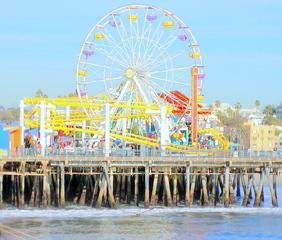 Old Santa Monica Ferris Wheel, Jerry Hicks