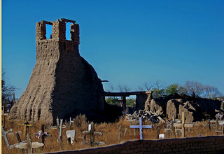 Taos Old Cemetery #2, Jerry Hicks & Lionel Digal