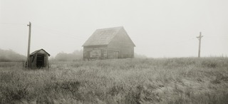 Coastal House in Fog (Hope), Michelle Nye