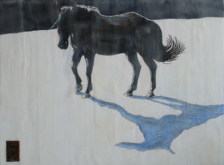 Lonesome Horse Series II, N. Teddy Goldsworthy-hanner
