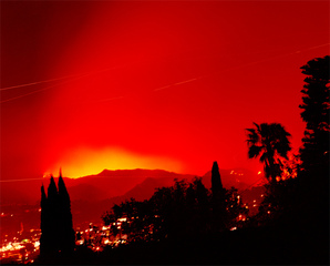 Griffith Park Fire  ,Connie Samaras