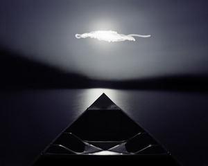 Attempting to Paddle Straight at the Moon, Caleb Charland
