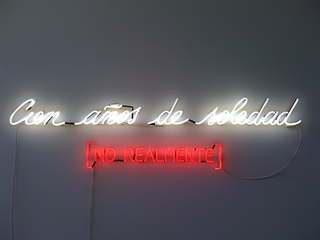 	Cien Anos de Soledad ,Alfredo Jaar