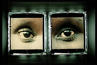 The Eyes of Guetete Emerita ,Alfredo Jaar