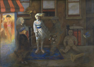 Street Scene, Catalog #93, Seymour Rosofsky