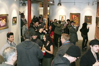 Opening reception,