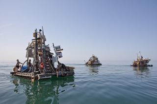 Rafts Adriatic ,Swimming Cities courtesy of Tod Seelie