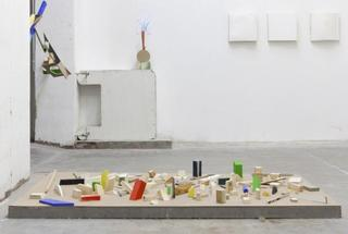 Changes of administrations (installation view),Nel Beloufa