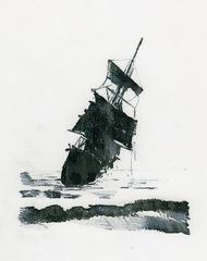 the ghost ship, Leigh McCarthy