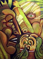 Dos Caras Verdad y LLanto , Omar Nava
