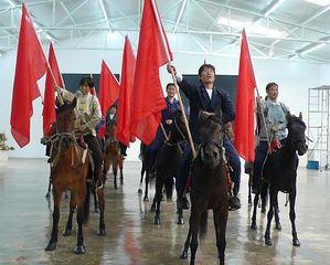 Wind/Horse/Flag, Zhang Dali