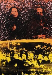 Mao and Stalin , Zhang Dali