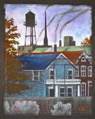 Blue House Across the Blue Line, Charlie B Thorne