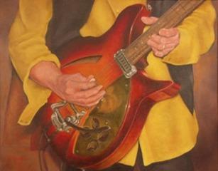 Guitar, Marcia Geiger