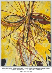 Untitled (Yellow Face 774), Mark Grotjahn