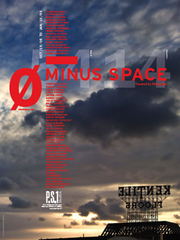 MINUS SPACE exhibition poster,