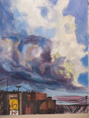 Chicago Clouds, Colette Wright Adams