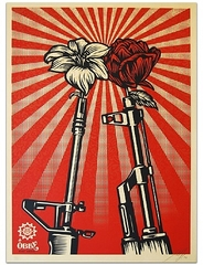 AK47 vs. M16 ,Shepard Fairey