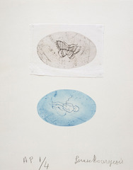 Baby and Butterfly,Louise Bourgeois