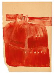 Entwurf für gezinnoberte Bronze, Joseph Beuys