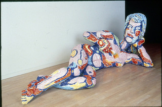 Untitled (Reclining Nude Woman), Viola Frey
