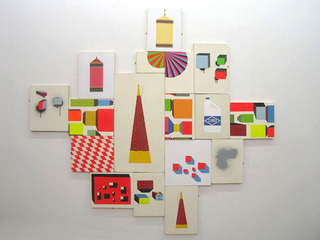 installation view, Lydia Fong