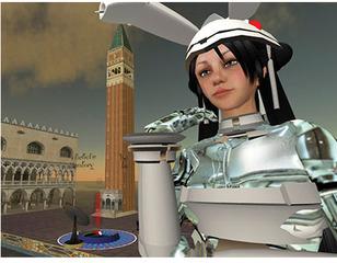 Mirror by China Tracy (AKA: Cao Fei) Second Life Documentary Film, Cao Fei