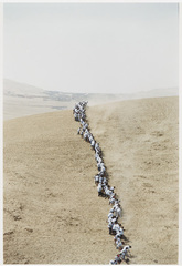 Untitled, from When Faith Moves Mountains, Francis Alÿs