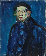 Self portrait as Picasso,Paul Housley