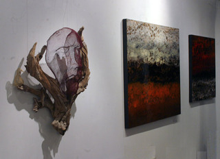 Distant Faces and Places at Elisa Contemporary Art,Marie Danielle Leblanc and Kaya Deckelbaum