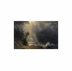 Puget Sound on the Pacific Coast , Albert Bierstadt