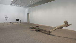 Installation View, Mark Manders