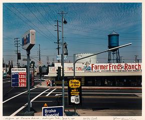 California at Florence Avenue, Huntington Park, June 17, 1980 , John Humble
