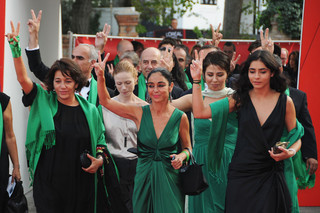 Green Triumph in Venice,Shirin Neshat