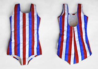 Stripe Swimsuit, Phranc