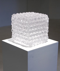 Bubble Wrap Cube, Colin Roberts